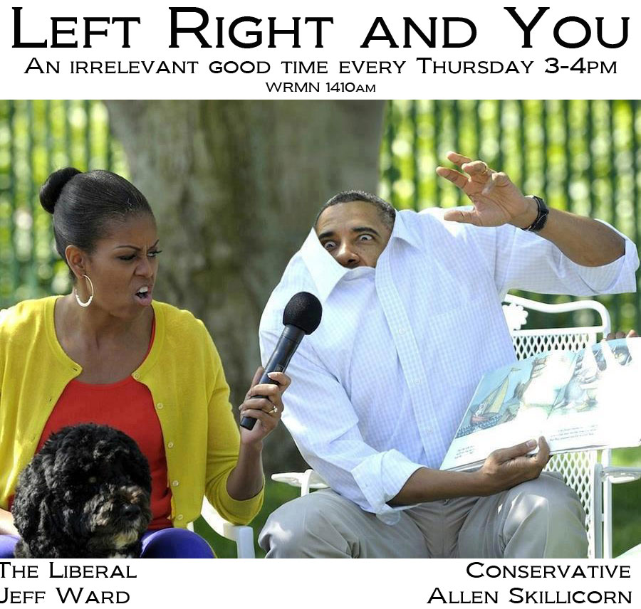 It's almost time for Left, Right and You!