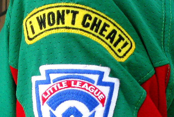 Youth sports? It's all about the cheating!