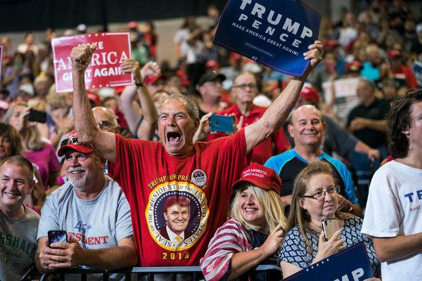 Quick Hits – Trump supporters have always been with us!