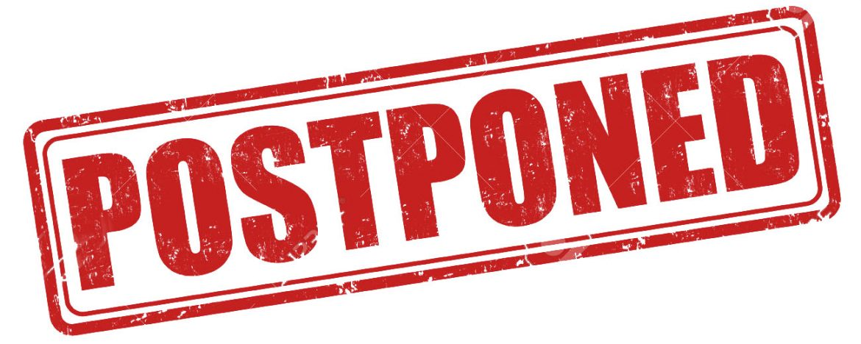 Quick Hits – Postponed!