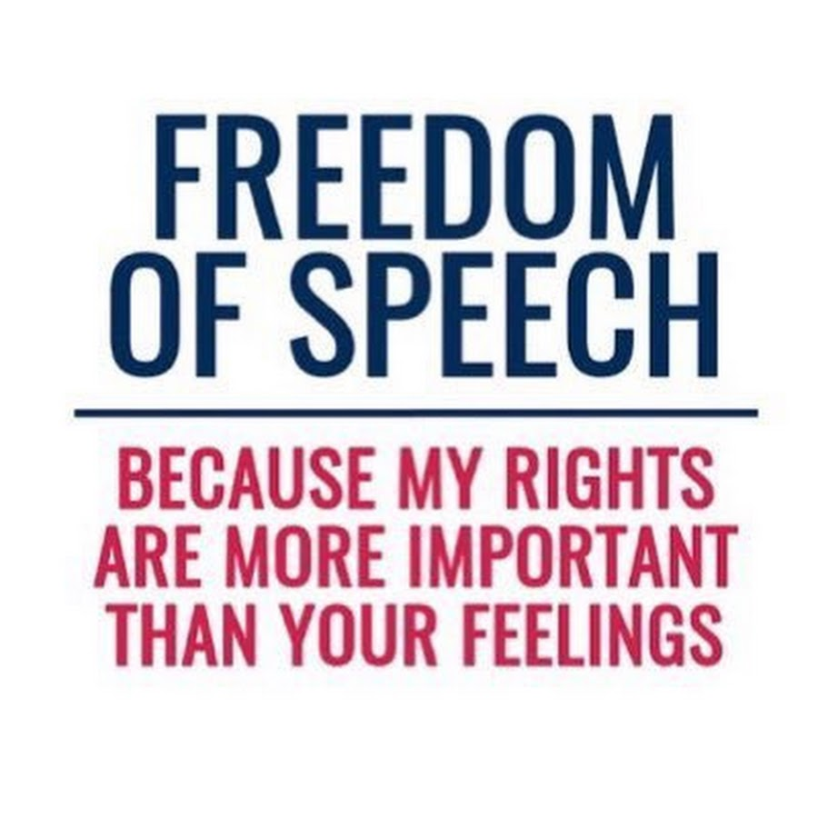 Quick Hits – We Love Free Speech Until We Don't!