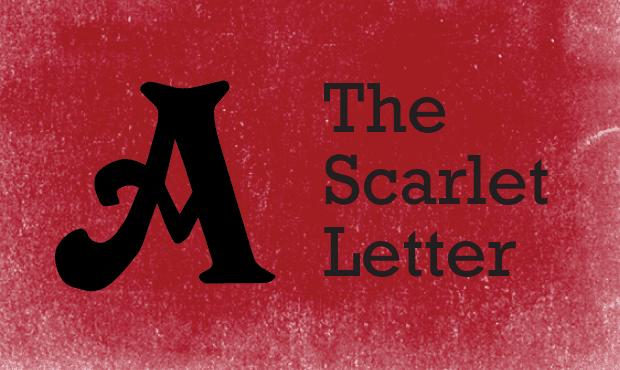 No scarlet letters!